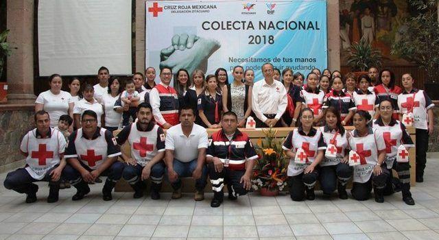 Colecta del 2017, sólo cubrió el 12% del gasto de Cruz Roja