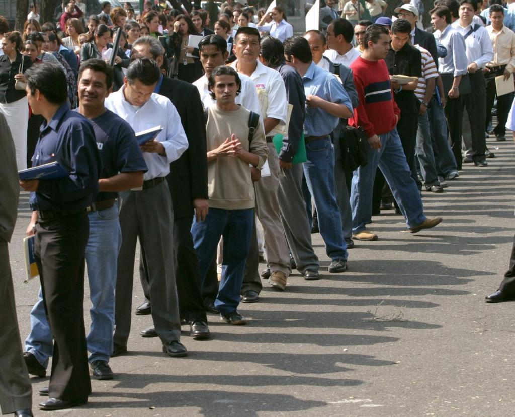 Resultado de imagen para desempleo méxico