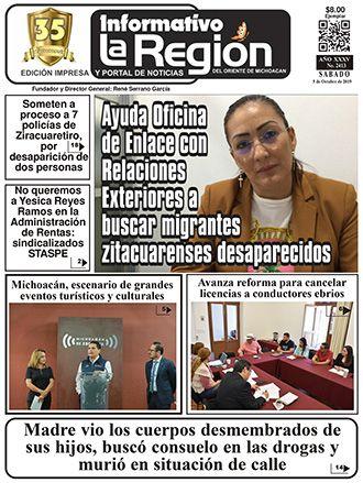 Hojear el periódico La Región de manera virtual