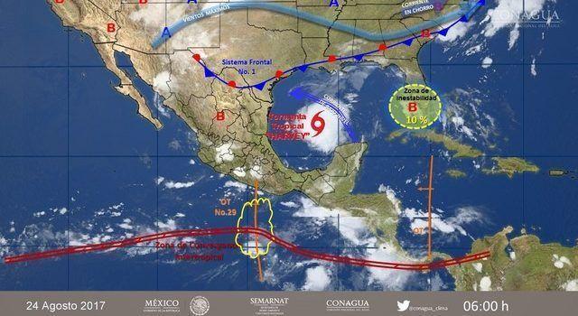 Pronóstico Del Tiempo Contacto Nocturno, 23 de Agosto de 2017
