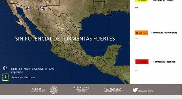 Alertan por vientos fuertes y tolvaneras en norte de México