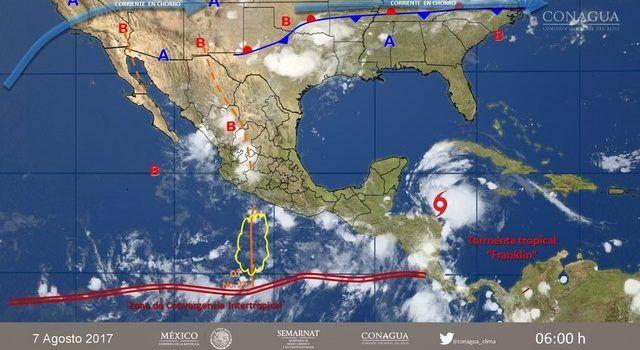 Prevén chubascos y tormentas fuertes en Sinaloa