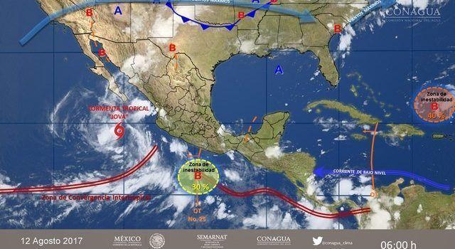 Tormentas muy fuertes para este miércoles en Michoacán