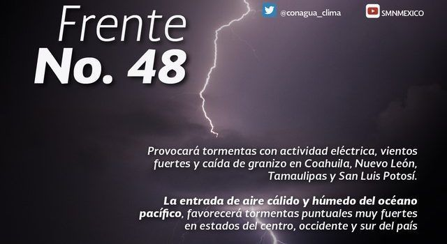 Pronostican lluvias intensas en Oaxaca