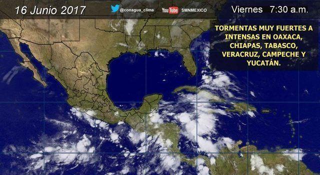 Alertan sobre posible formación de tormenta tropical