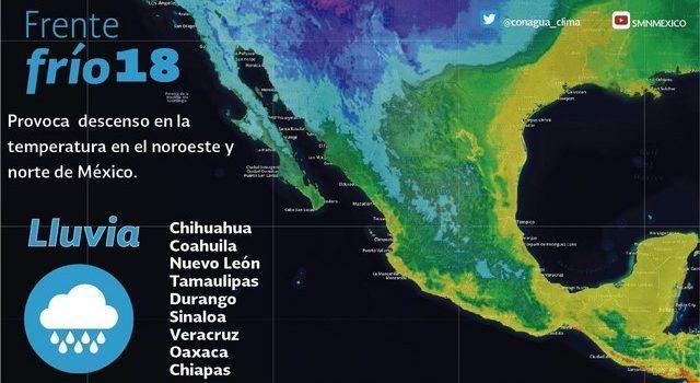 Veracruz y estas otras entidades enfrentarán bajas temperaturas