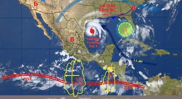 Pronostican tormentas puntuales fuertes para el Valle de México