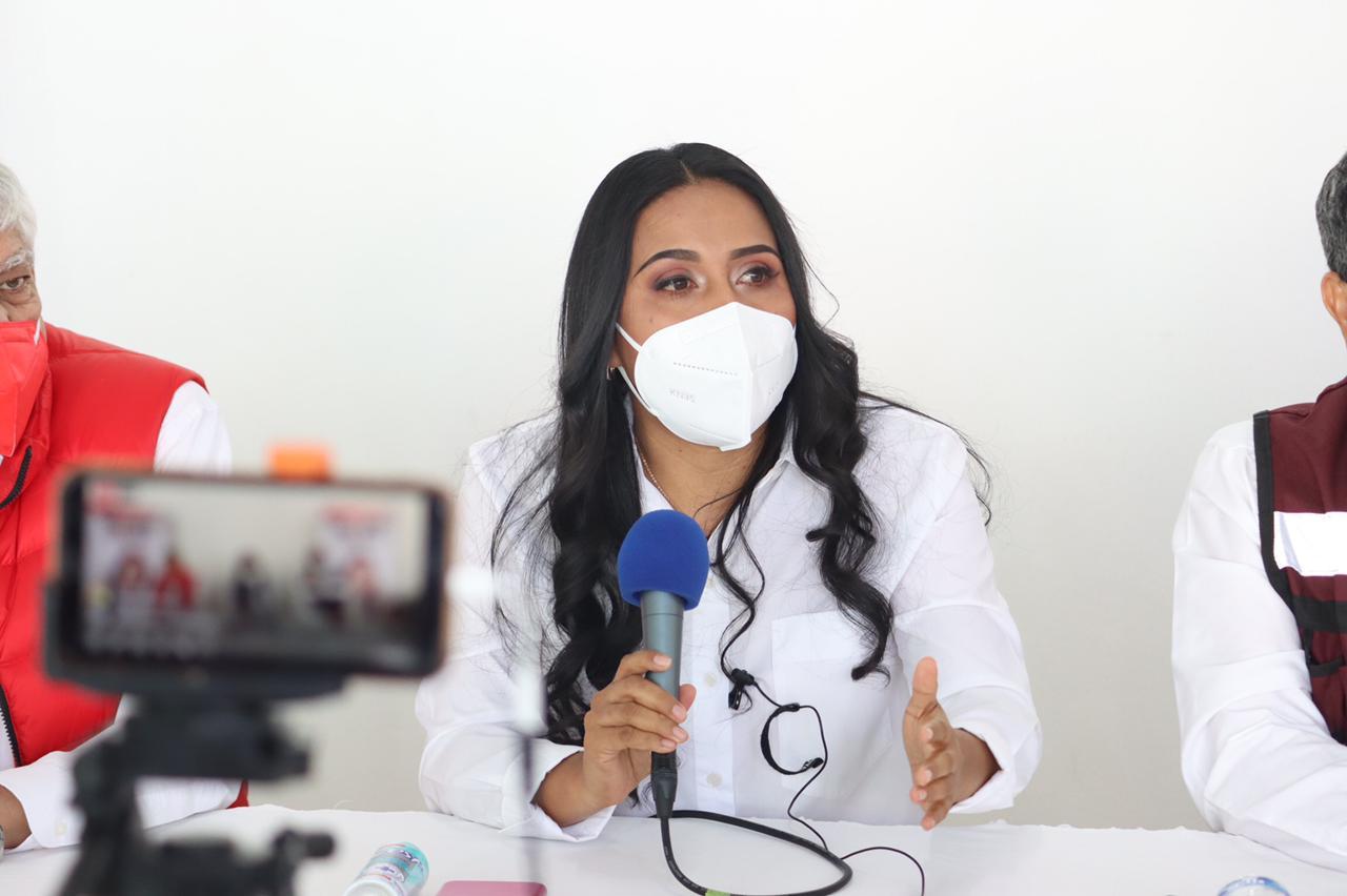 Con trabajo y humildad sigamos transformando Michoacán: Mary Carmen Bernal
